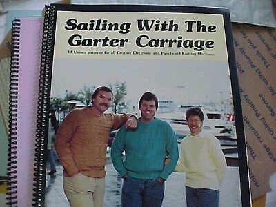 Sailing With The Garter Carriage by Phyllis Waterhouse - 14 Unisex Patterns