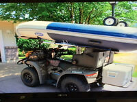 ATV, Boat & Trailer--Ultimate Camping, Hunting & Fishing Package
