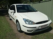 2004 Ford Focus LR CL White 5 Speed Manual Hatchback Gaven Gold Coast City Preview
