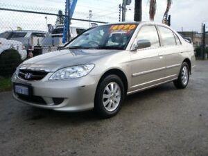 2004 Honda Civic 7TH GEN GLi Gold 4 Speed Automatic Sedan Wangara Wanneroo Area Preview