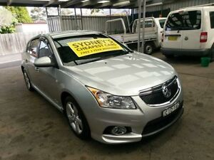 2012 Holden Cruze JH Series II MY12 SRi-V Silver Auto Sports Mode Hatchback Five Dock Canada Bay Area Preview
