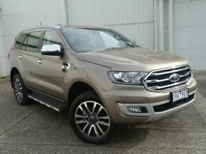2019 Ford Everest UA II 2019.75MY Titanium Silver 10 Speed Sports Automatic SUV Bundoora Banyule Area Preview