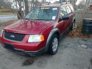 2006 Ford Freestyle SE sold as is