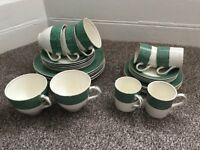J&G Meakin china tea and coffee crockery set