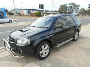 2007 Ford Territory SY Turbo AWD Black 6 Speed Sports Automatic Wagon Fyshwick South Canberra Preview