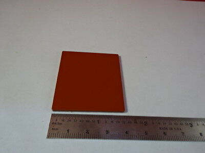 Optical Opaque Terracotta Color Plate Square Optics As Pictured 55r-a-01