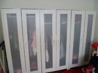 3x Ikea Aneboda Wardrobes (white)
