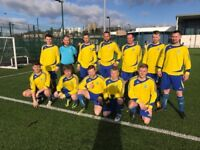 Committed players needed for Sunday League football team.