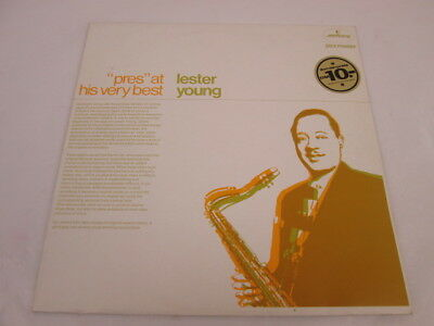 "Lester Young: ""Pres"" At His Very Best. Vinyl-LP, Compilation, Mercury NL"