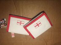 Men's Boys Velcro Wallet with England Logo X-Mas Gift