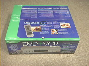 NEW in box go video combo vhs dvd player DVR4250 dvr 4250 sonic