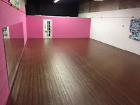 Studio Rental - Fitness, Meetings, Rehearsals - Scarborough
