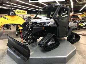 2019 Can Am Defender CAB HD10 - Tracks, Plow