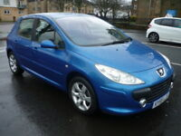 Peugeot 307 1.6HDi 90BHP SE **Full Service History** (blue) 2005
