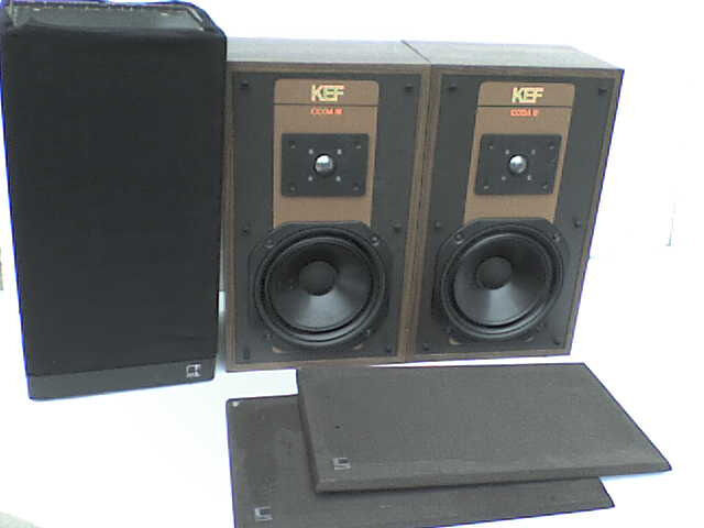 50W KEF Stereo Speakers + a FREE KEF Speaker - Heathrow