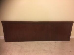 REDUCED! Solid Wood Headboards (King and Queen) in Cherry Finish