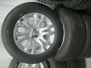 dodge ram 20'' wheels and tires