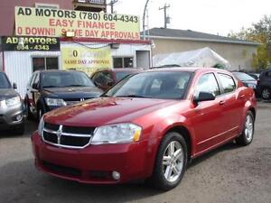 2010 DODGE AVENGER SXT AUTO LOADED 129K-100% APPROVED FINANCING!