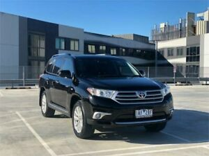 2013 Toyota Kluger GSU40R MY13 Upgrade Grande (FWD) Black 5 Speed Automatic Wagon Burwood Whitehorse Area Preview