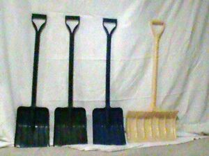 Kids snow shovels