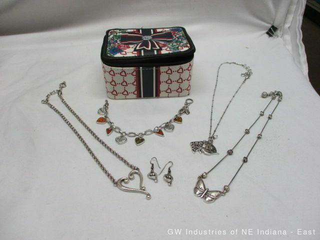 Brighton Travel Jewelry Case w Jewelry (cm)
