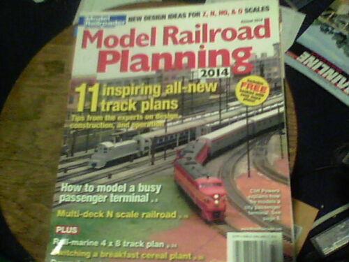 Model Railroad Planning 2014 11 inspiring all new track plans