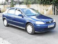Vauxhall Astra 1.6i 2003 Club, Blue, 1 Years Mot, Just Serviced