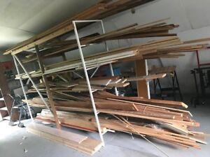 Assortment of Trim and Hardwood