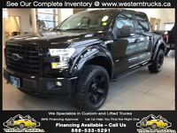 2015 Ford F-150 FX4, Murdered Out!!! Lifted! $370 Bi-Weekly