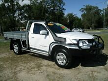 2014 Holden Colorado RG MY15 LS White 6 Speed Manual Cab Chassis Strathpine Pine Rivers Area Preview