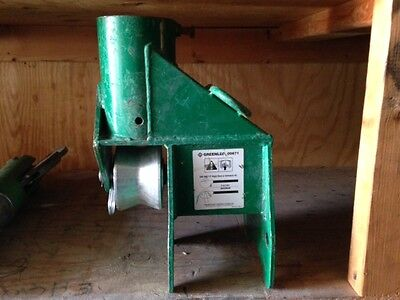 Greenlee 00871 Boom Mount For 6800 Ultra Tugger Pulling Package
