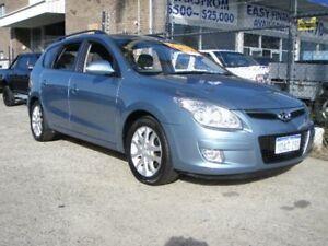 2009 Hyundai i30 FD MY09 CW SLX 1.6 CRDi Blue 4 Speed Automatic Wagon Wangara Wanneroo Area Preview
