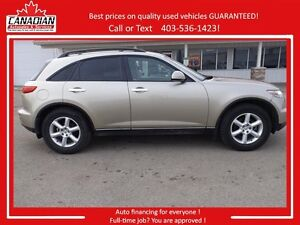 2004 INFINITI FX35 AWD LOADED NO ACCIDENTS