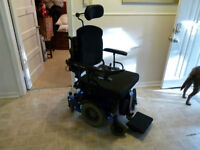 Price reduced. Heavy-duty multi-function electric wheel-chair.