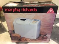 New Morphy Richards Breadmaker