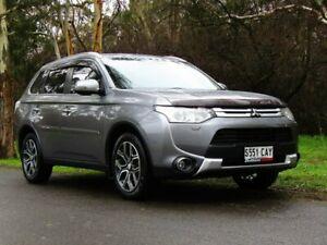 2014 Mitsubishi Outlander ZJ MY14.5 Aspire 4WD Grey 6 Speed Constant Variable Wagon Littlehampton Mount Barker Area Preview