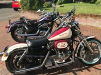 1991 Harley Sportster super Deluxe LTD Edition