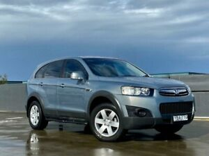 2012 Holden Captiva CG Series II MY12 7 SX Silver 6 Speed Sports Automatic Wagon Blacktown Blacktown Area Preview