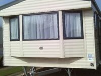static caravan for hire skegness