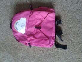 Girl's backpack named 'Emily'
