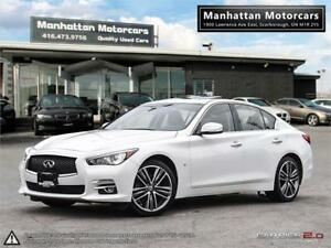 2015 INFINITI Q50 LIMITED AWD |NAV|CAMERA|BLUETOOTH|SUNROOF|1OWN