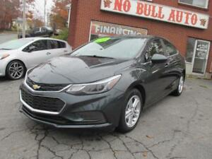 2017 Chevrolet Cruze LT Auto, Power Sunroof, Bose, Heated Seats