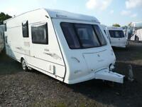 Elddis Avante 556, 2007 Model 6 Berth Fixed Bunks + Motor Mover!