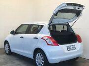 2012 Suzuki Swift FZ GL White 5 Speed Manual Hatchback Mount Gambier Grant Area Preview