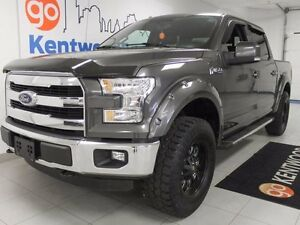 2015 Ford F-150 Lariat! 5.0L -LEVELED WITH LEATHER!!!