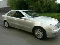 MERCEDES BENZ E220 CDI LEATHER ALLOYS 4DR DIESEL AUTOMATIC SERVICE HISTORY