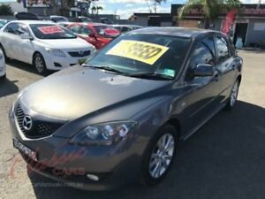 2007 Mazda 3 BK MY06 Upgrade Maxx Grey 5 Speed Manual Hatchback Lansvale Liverpool Area Preview