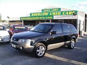 2004 Ford Territory SX TX (4x4) Black over Silver 4 Speed Auto Seq Sportshift Wagon Officer Cardinia Area Preview