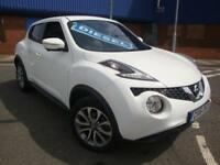 16 NISSAN JUKE1.5dCi ( 110ps ) ( s/s ) ( Xenons ) TEKNA// £30 ROAD TAX//