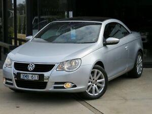 2010 Volkswagen EOS 1F MY10 155 TSI Silver Metallic 6 Speed Direct Shift Convertible Seaford Frankston Area Preview